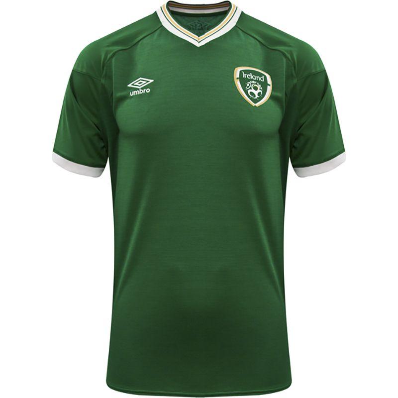 Umbro Republic of Ireland 2021 Men's Home Short Sleeve Jersey Green