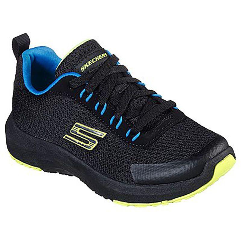 Skechers Kids'  Dynamic Tread Nitrode Black / Blue / Lime