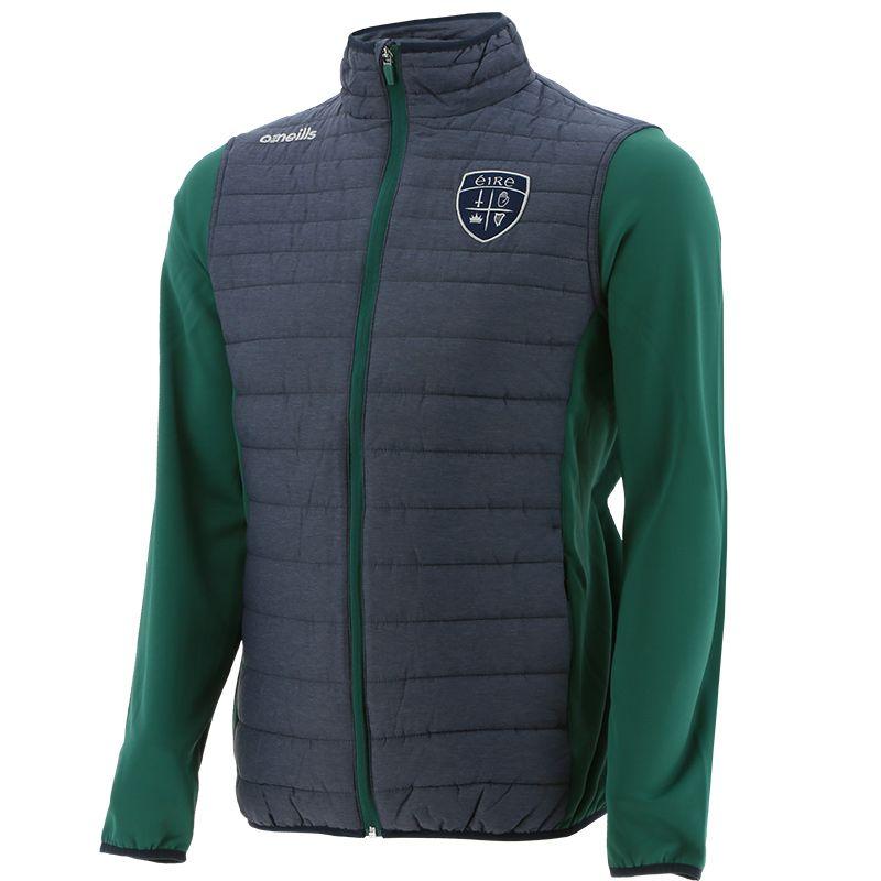 Men's Charley Éire Padded Jacket Marine / Green