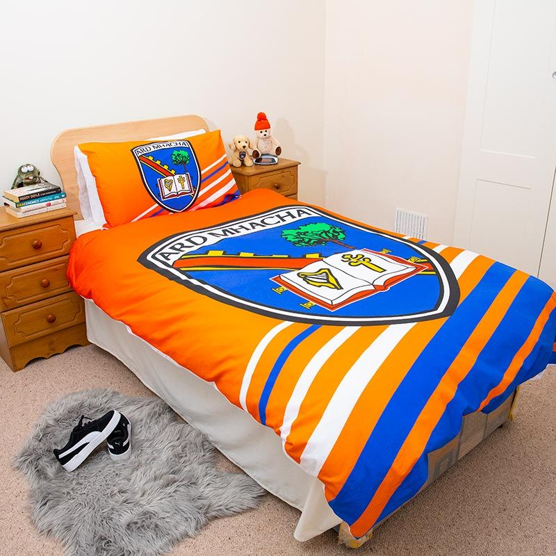 Armagh Gaa Single Duvet Cover Oneills Com, What Size Is A Single Bed Cover