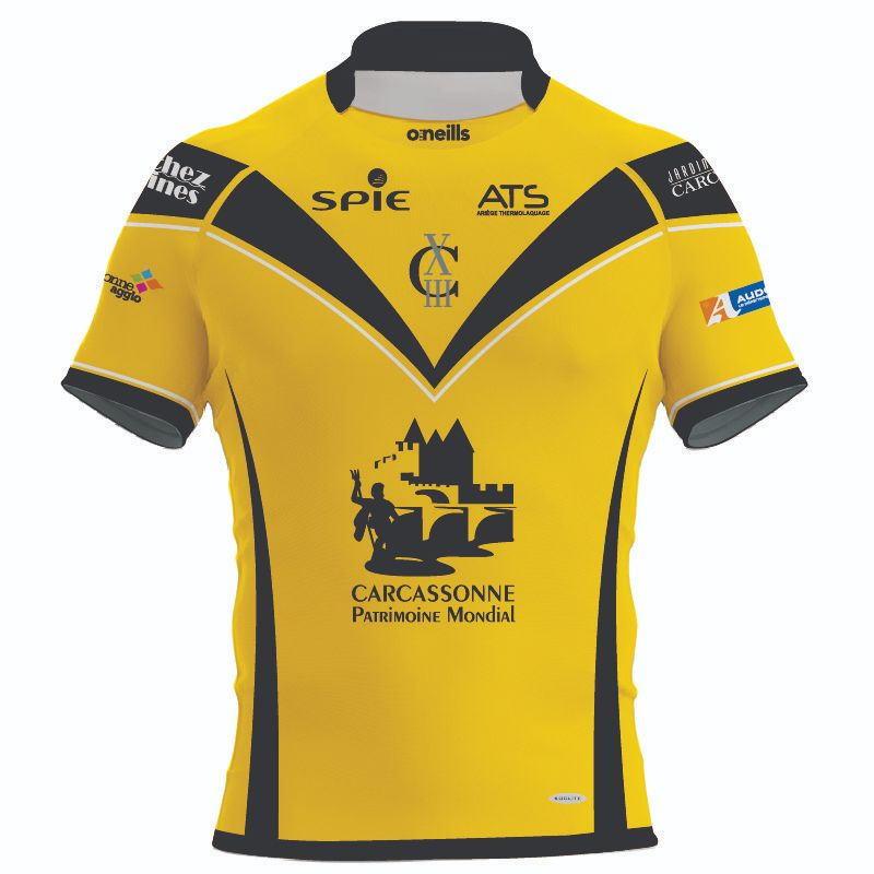 AS Carcassonne XIII Rugby Replica Jersey