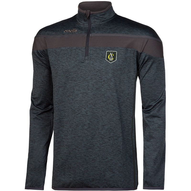 AS Carcassonne XIII Kids' Auckland Half Zip Brushed Top