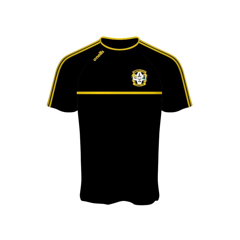 Ashbourne United Kids' Mason T-Shirt Black