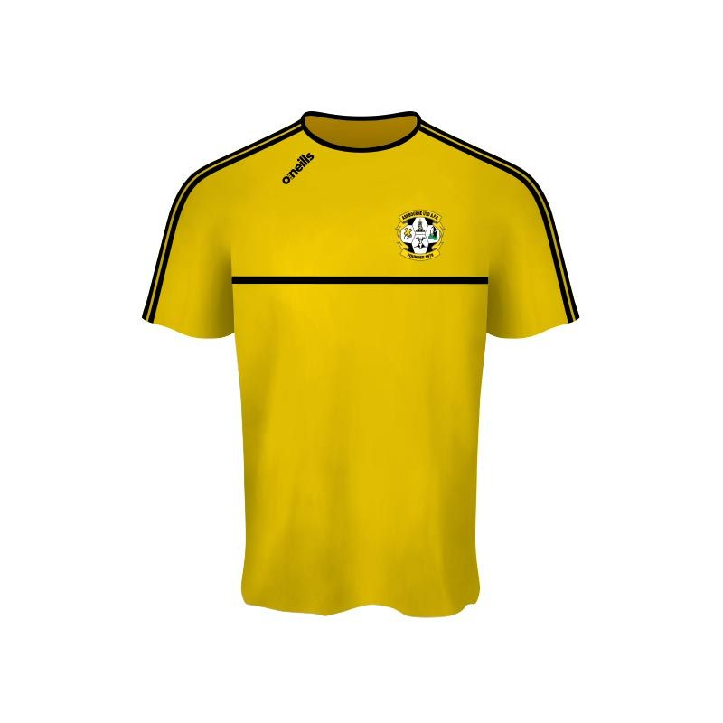 Ashbourne United Mason T-Shirt Gold