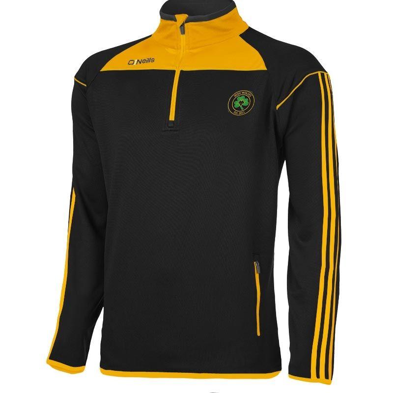 Irish Wolves Supporters Club Aston Half Zip Top