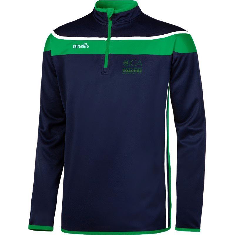 Cricket Ireland Coaches Auckland Squad Half Zip