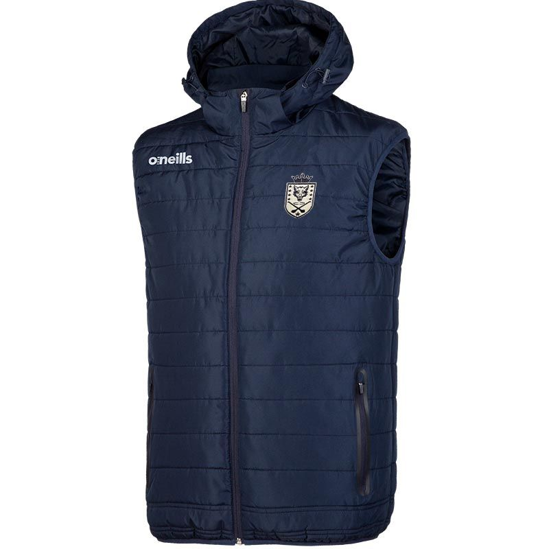 Barley House Wolves Solar Hooded Gilet