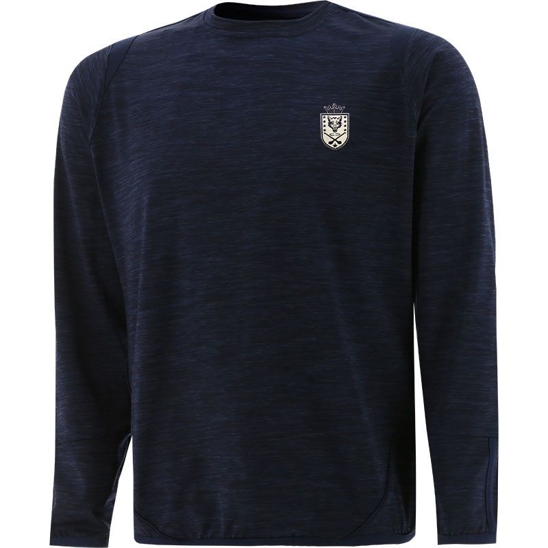 Barley House Wolves Loxton Brushed Crew Neck Top