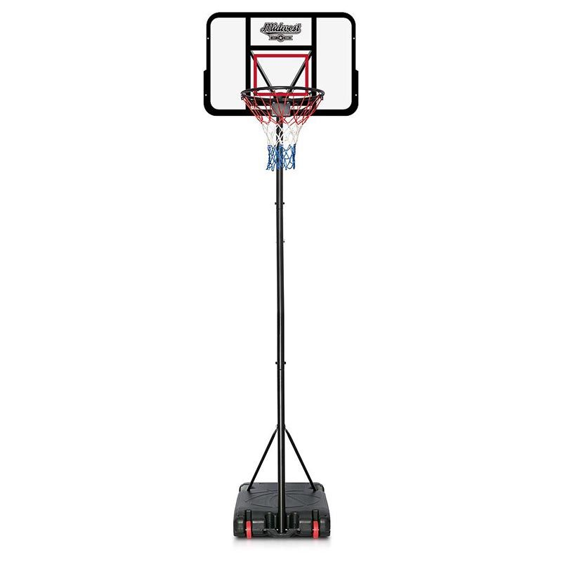Midwest Pro Basketball Stand Black
