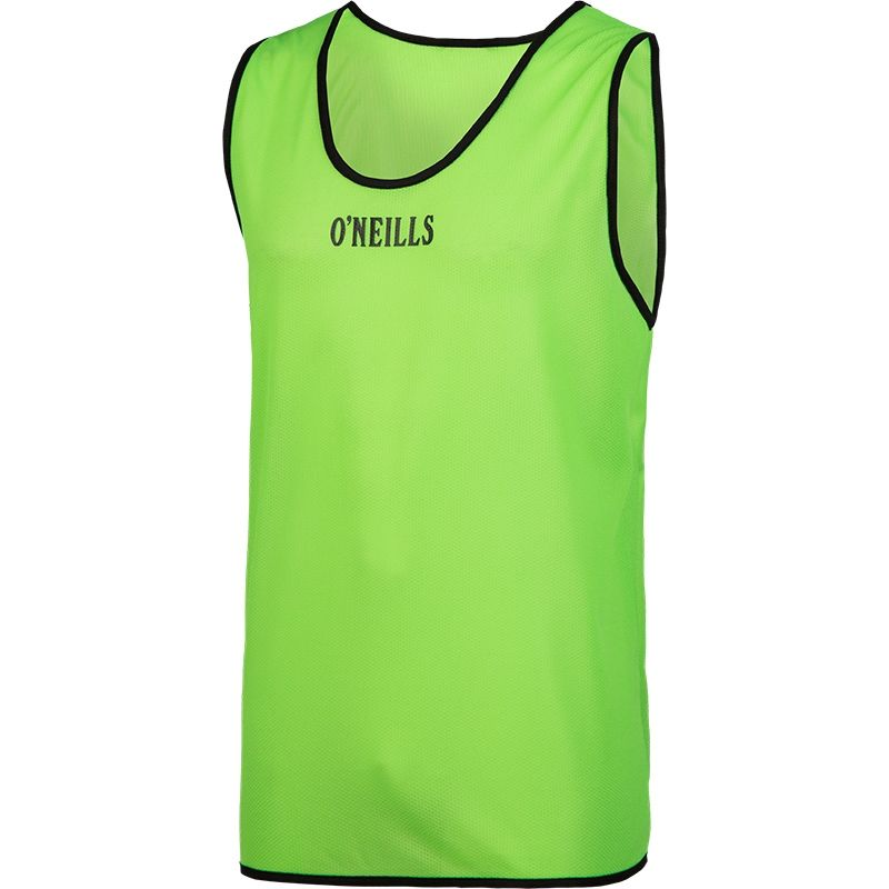 Single Mesh Training Bib (Green) Kids