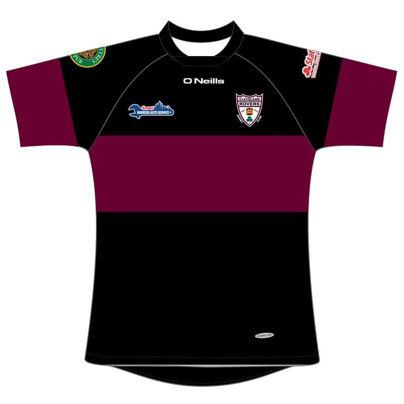 Cleveland Rovers RFC Rugby Jersey (Black)