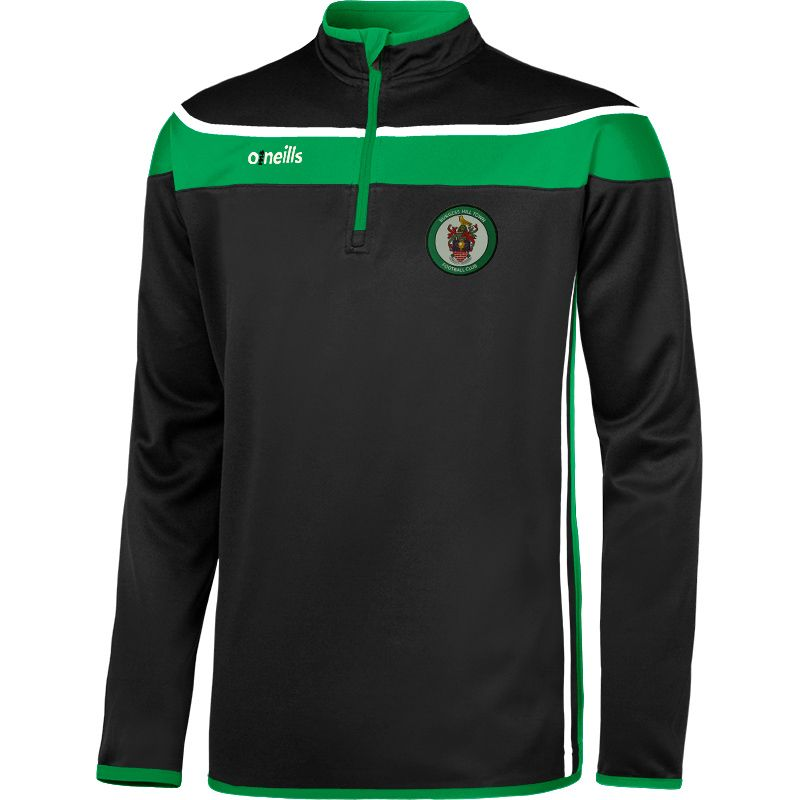 Burgess Hill Town FC Auckland Squad Half Zip