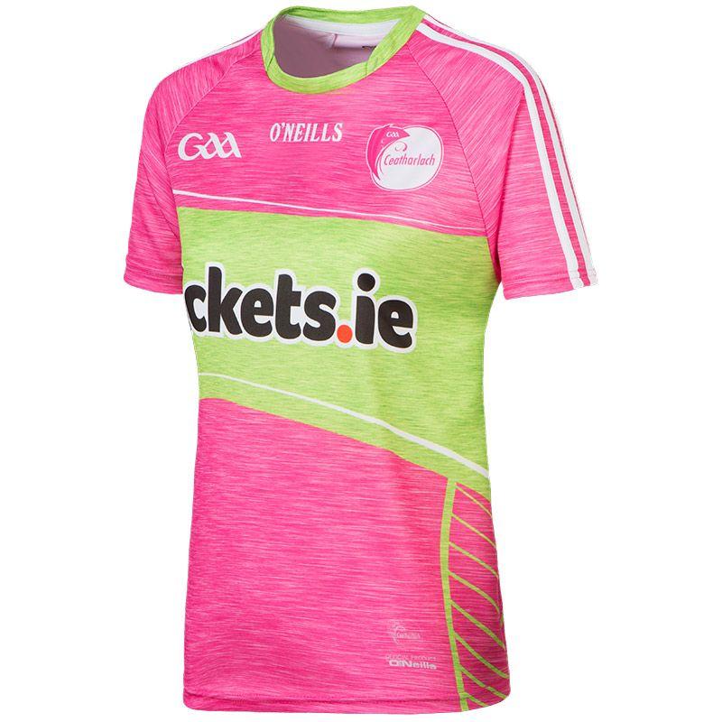 Carlow GAA Kids' Pink Jersey