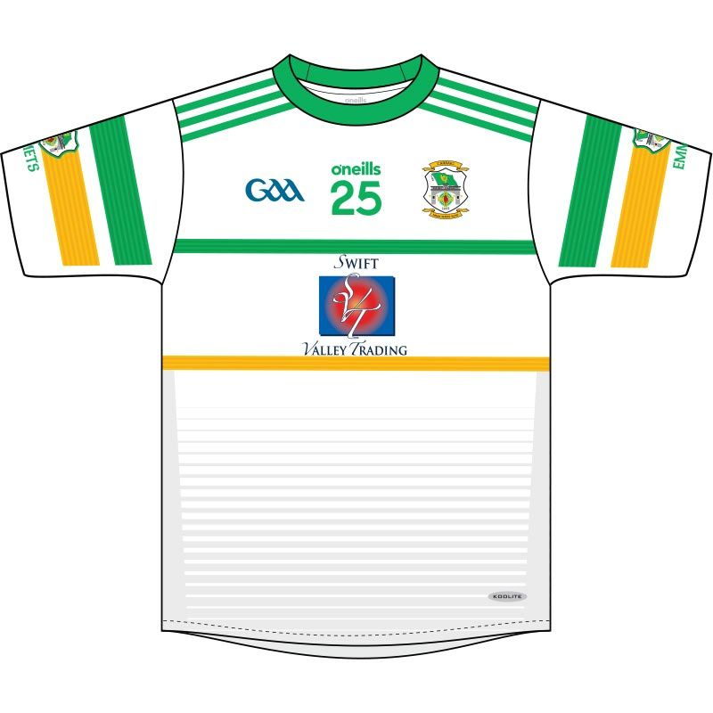 Carrickmacross Emmets GFC Kids' Jersey (White)
