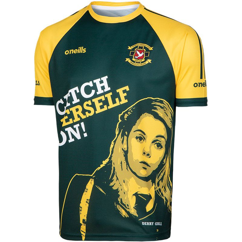 'Catch Yerself On' Men's Derry Girls Jersey