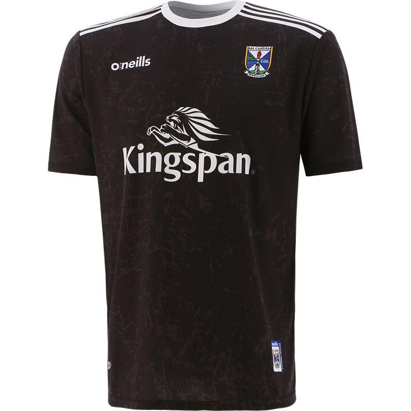 Cavan GAA Short Sleeve Training Top Black