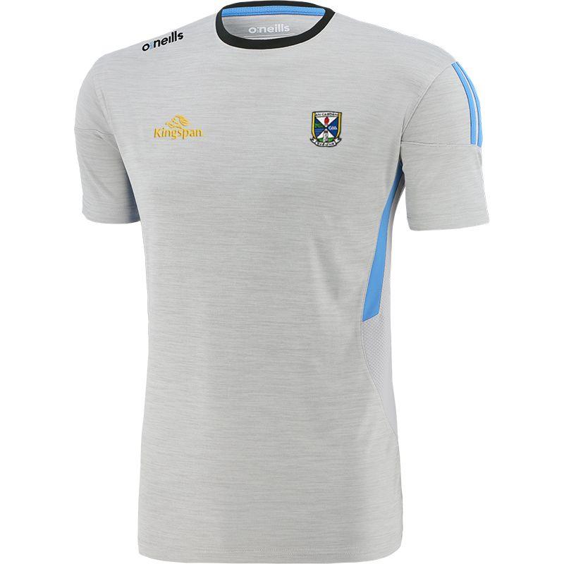 Cavan GAA Kids' Raven T-Shirt Silver / Blue / Dark Grey