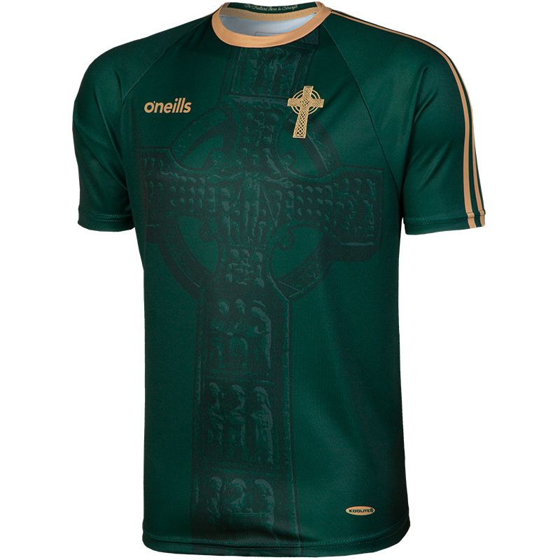 Celtic Cross Player Fit Jersey Green