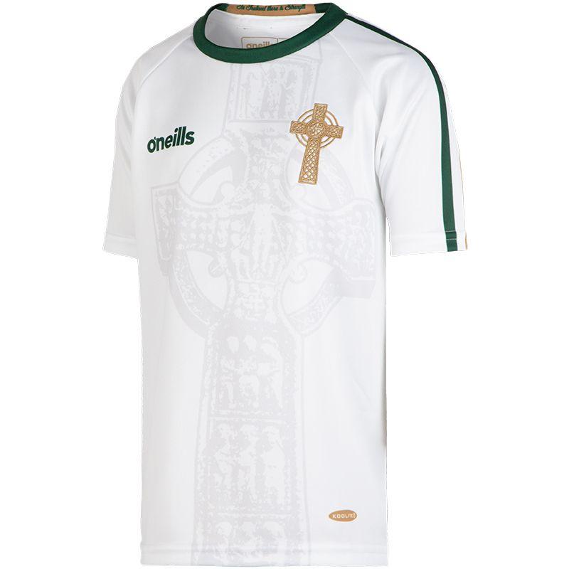 Celtic Cross Kids' Jersey White