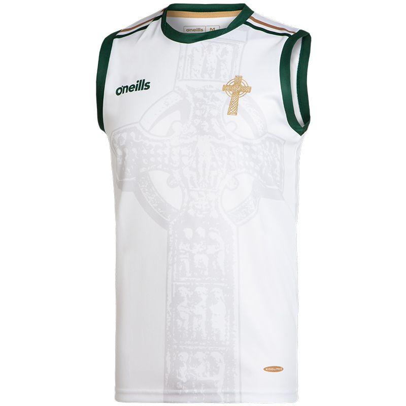 Celtic Cross Vest White