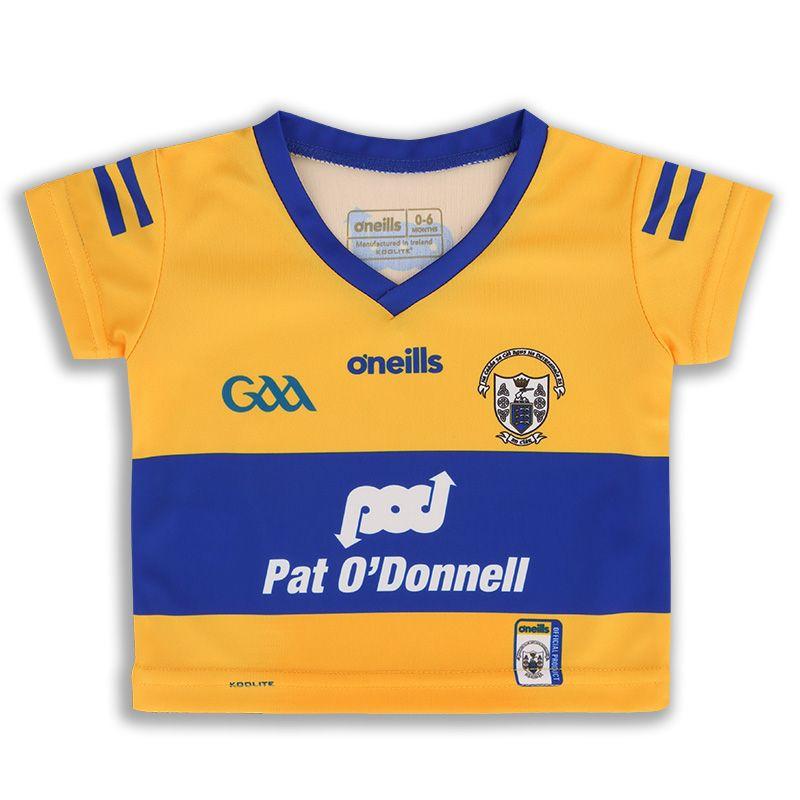 Clare GAA Baby 2 Stripe Home Jersey 2021/22