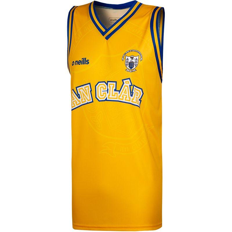 Clare GAA Basketball Vest