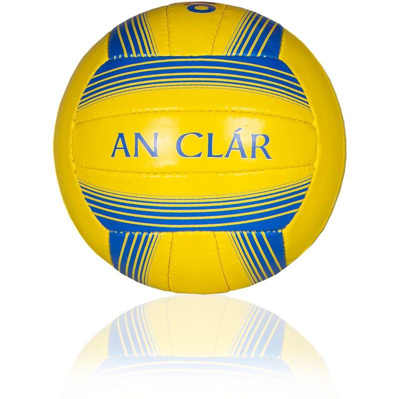 Clare GAA Inter County Football Yellow / Blue