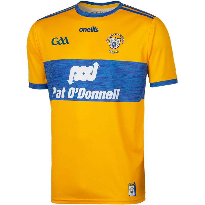 Clare GAA 2-Stripe Player Fit Home Jersey