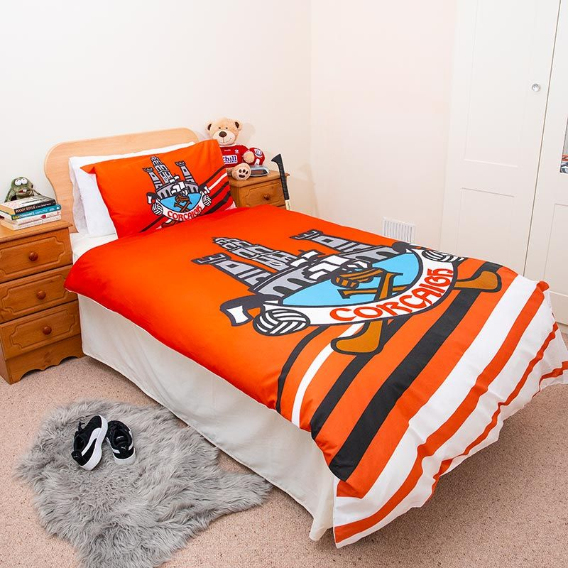 Cork Gaa Single Duvet Cover Oneills Com, What Size Is A Single Bed Cover
