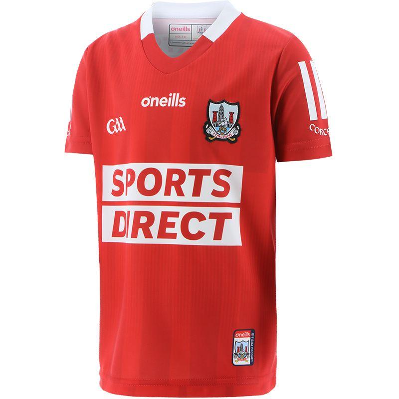 Cork GAA Kids' 2-Stripe Home Jersey 2021/22
