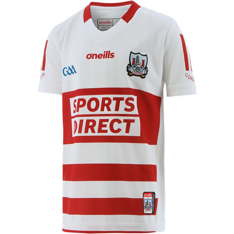 Cork GAA Kids' 2-Stripe Goalkeeper Jersey 2021/22