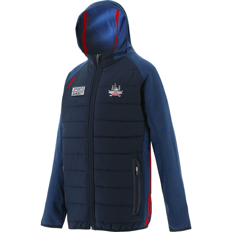 Cork GAA Kids' Portland Light Weight Padded Jacket Marine / Red