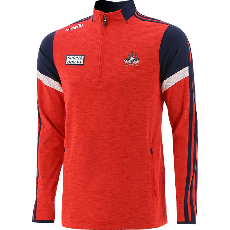 Cork GAA Men's Portland Brushed Half Zip Top Red / Marine / White