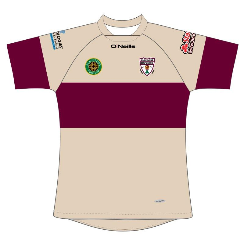 Cleveland Rovers RFC Rugby Jersey (Cream)