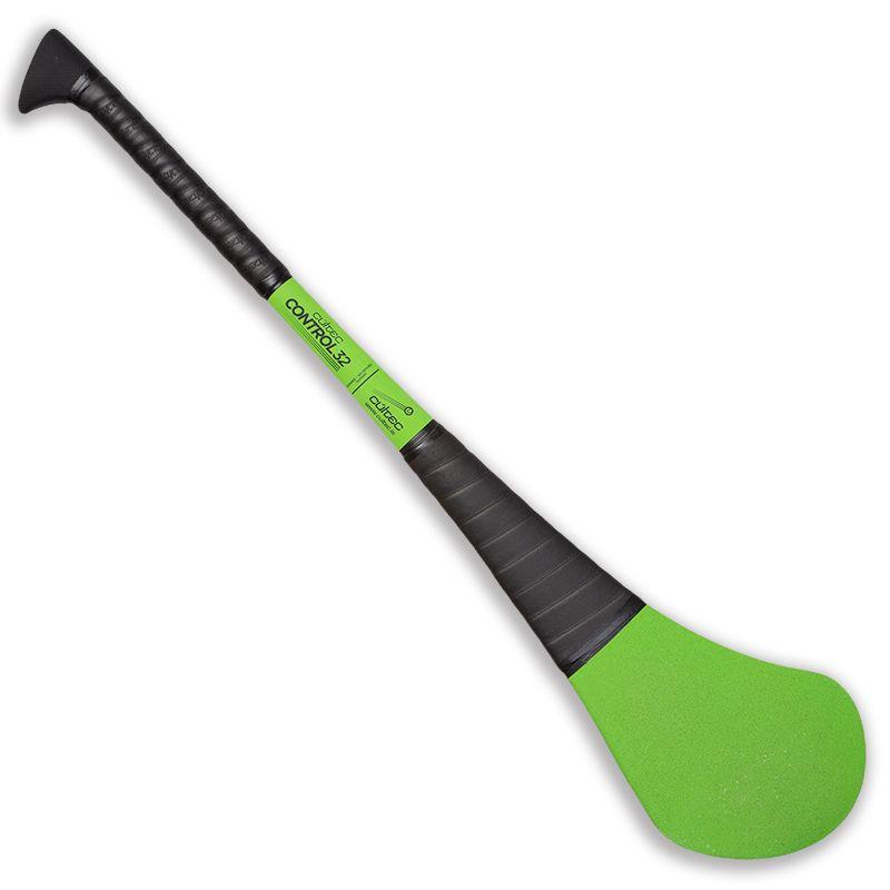 Cúltec Fibreglass Hurling Stick Green