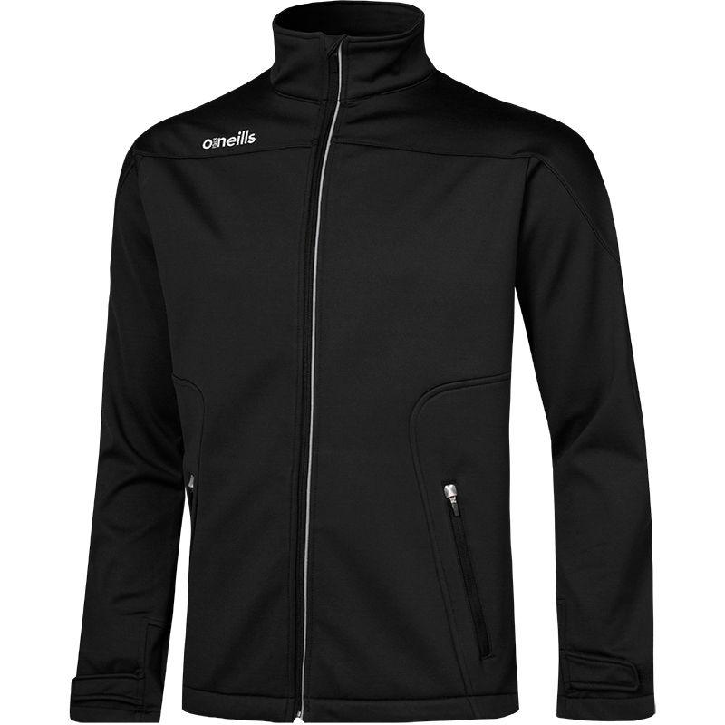Men's Decade Soft Shell Full Zip Jacket Black