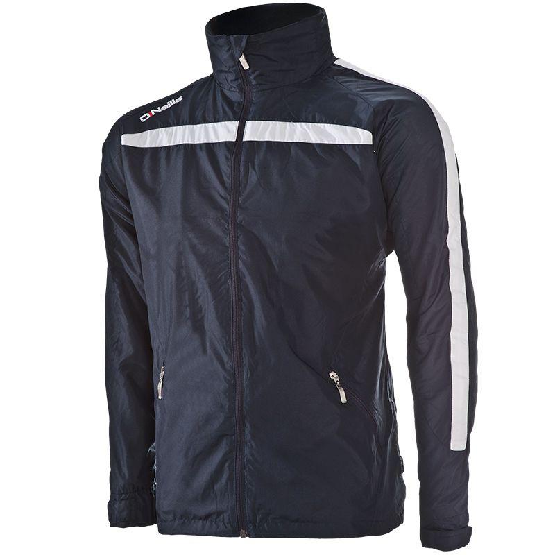 Men's Derby Fleece Lined Full Zip Jacket Marine / White