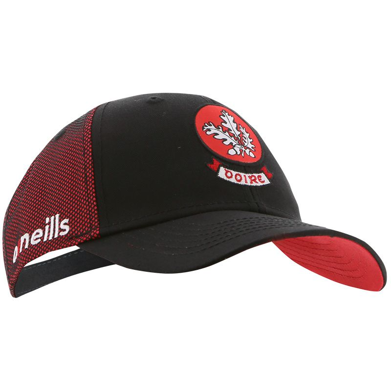 Derry GAA Kids' Diego Baseball Cap Black / Red / White