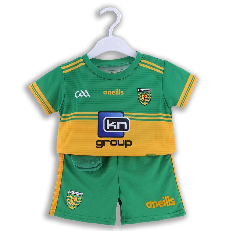 Donegal GAA 2 Stripe Home Mini Kit