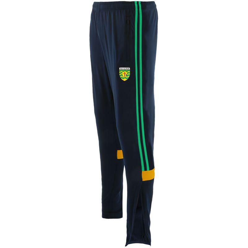 Donegal GAA Men's Portland Brushed Skinny Bottoms Marine / Green / Amber