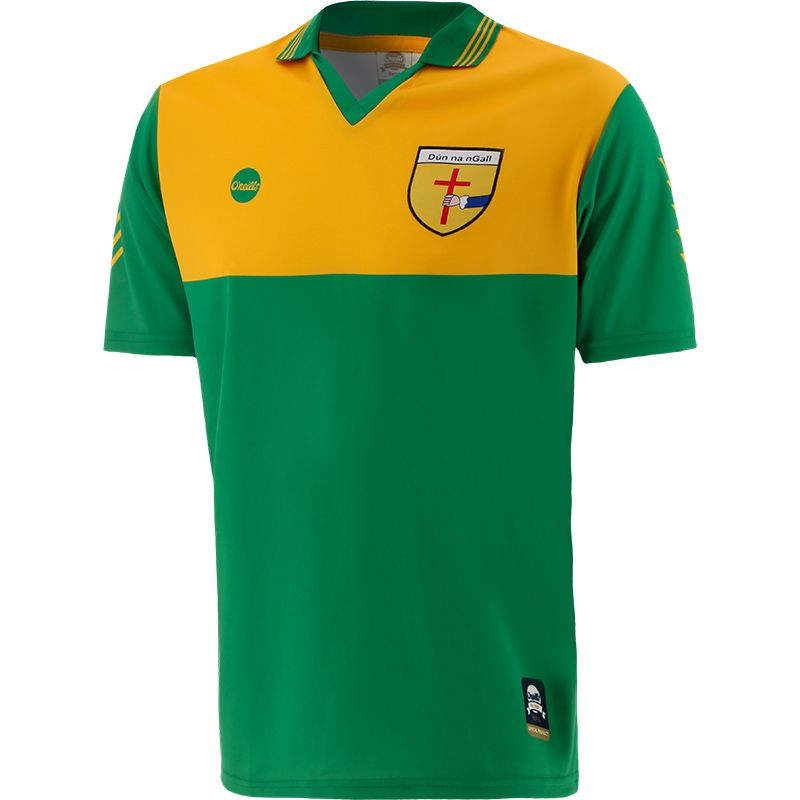 Donegal Retro Jersey Green