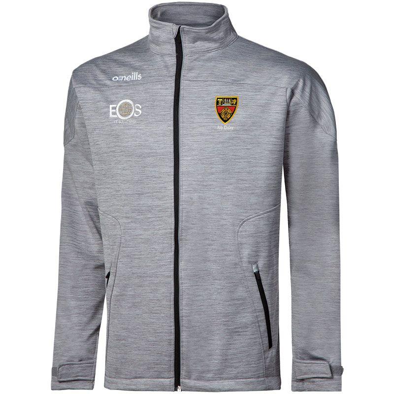 Down GAA Men's Decade Soft Shell Full Zip Jacket Grey