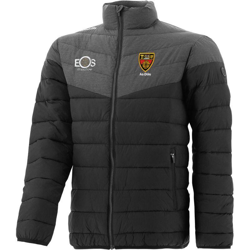 Down GAA Men's Norton Padded Jacket Black
