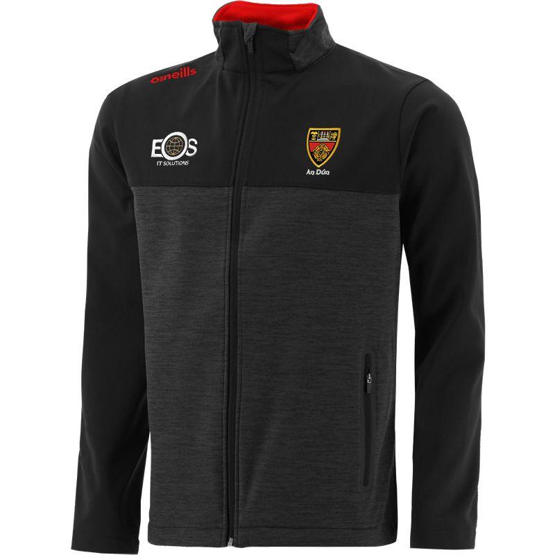 Down GAA Men's Portland Soft Shell Jacket Black / Red