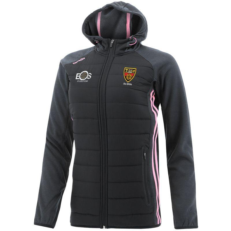 Down GAA Women's Portland Light Weight Padded Jacket Black / Pink