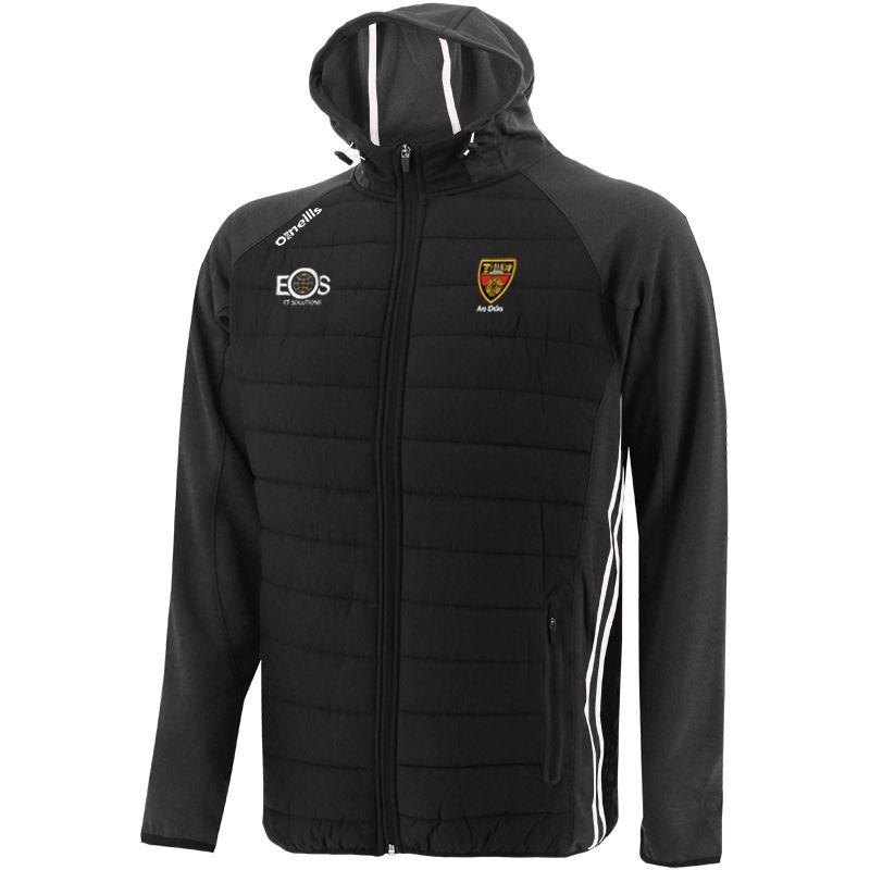 Down GAA Men's Portland Light Weight Padded Jacket Black / White