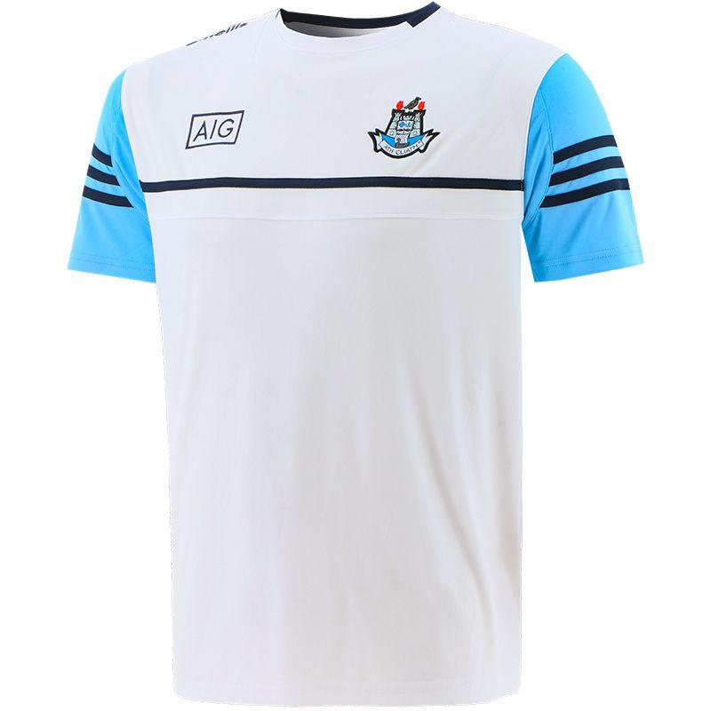 Dublin GAA Men's Bolton T-Shirt White / Sky / Marine