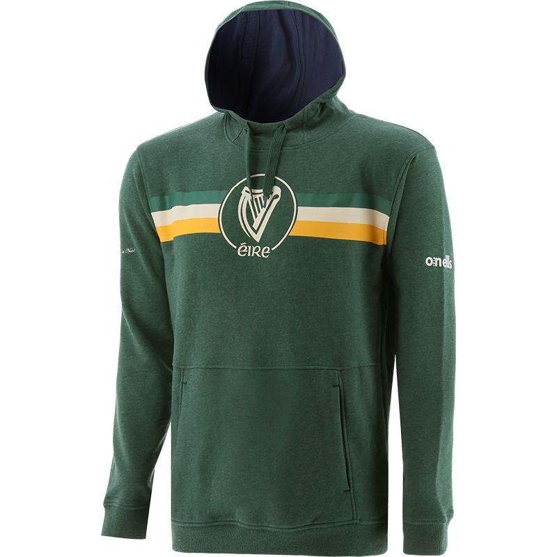 Men's Éire Fleece Overhead Hooded Top Green