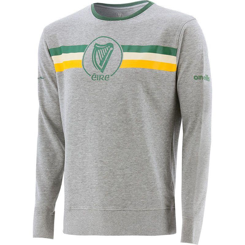 Men's Éire Fleece Crew Neck Sweatshirt Grey