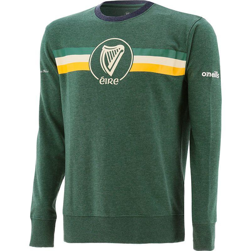 Men's Éire Fleece Crew Neck Sweatshirt Green